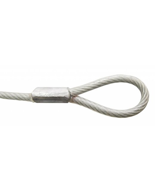 Kabel met lussen 500 cm met hangslot