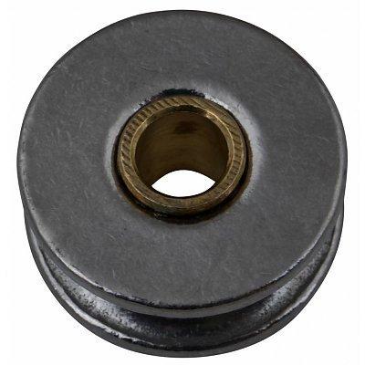 Edelstahl Riemenscheibe mit messing rohr 32mm
