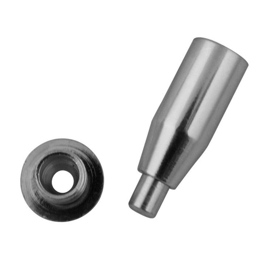 Plafondbevestiging voor 2.5mm staalkabel