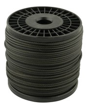 Wire Rope 3 mm 100 meter on coil black