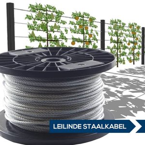 lime trees Wire Rope 4mm galvanised