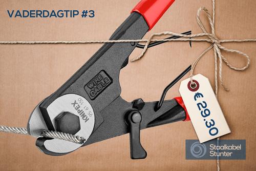 Vaderdag Gereedschap Tip 3: Knipex Draadknipper