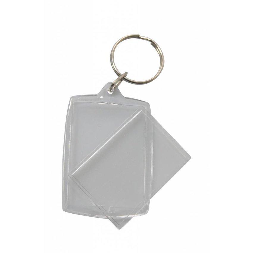 Pasfoto sleutelhanger PE