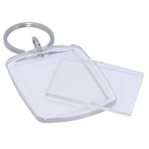 Plexiglass keyring
