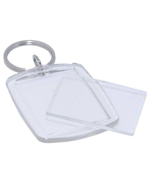 Plexiglas sleutelhanger 150 stuks aanbieding