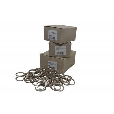 Platte Schlüsselringe 30mm (Buitenmaat)