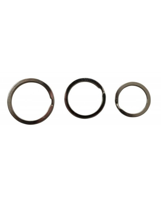 Platte Sleutelringen 30mm (Buitenmaat)