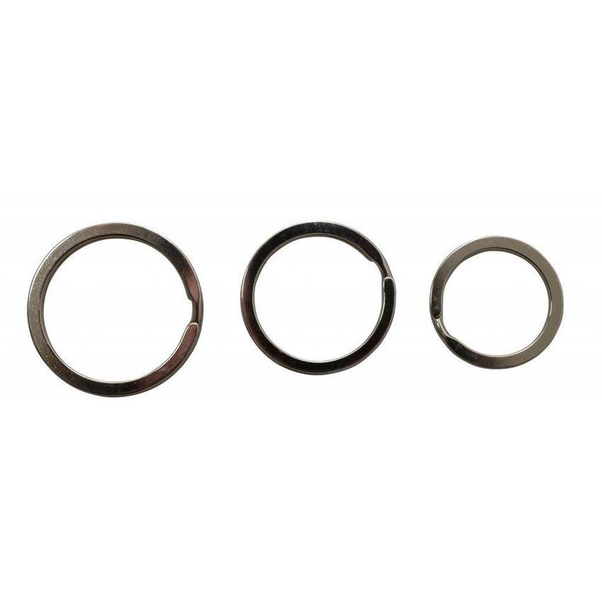 Platte Sleutelringen 35mm (Buitenmaat)