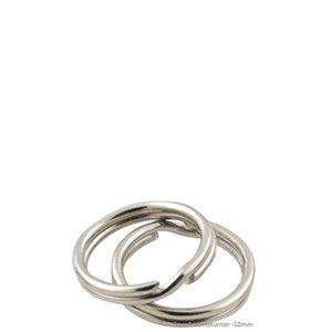 Sleutelringen 12mm | 100stuks