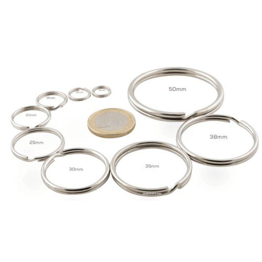 Keyringss 20mm | 100pieces