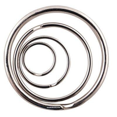 Sleutelringen 20mm | 100stuks