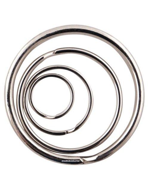 Sleutelringen 50mm | 50 stuks