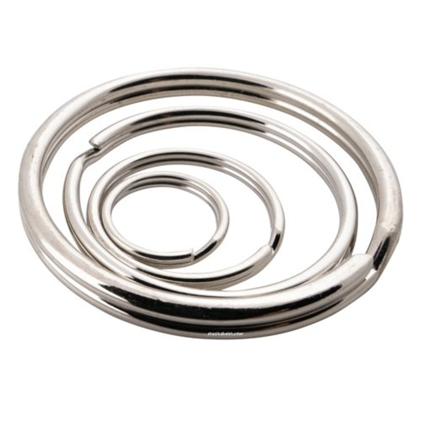 Keyringss 50mm   50 pieces