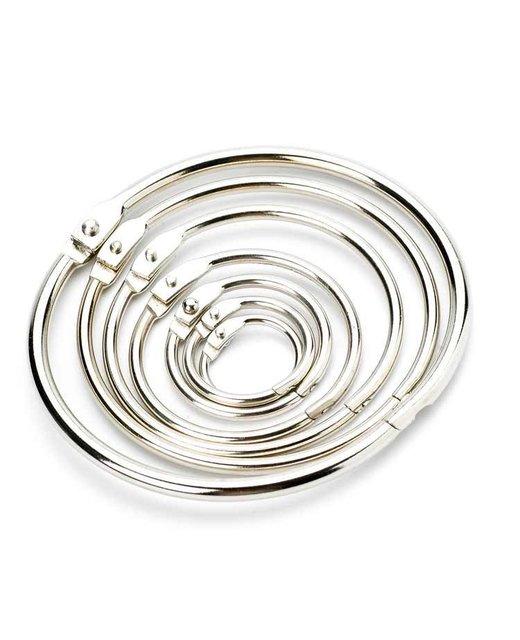 Blatt Binder Ring Metall Buch Ringe lose Buchring Schlüsselring 25mm