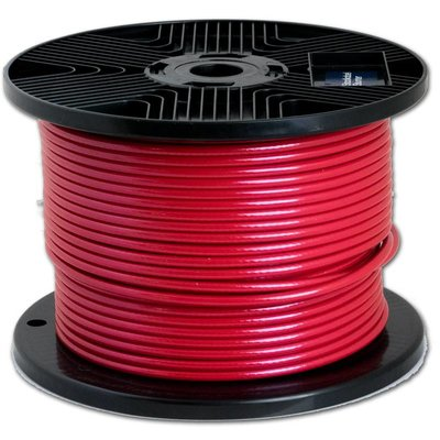 Wire Ropes 3/4 mm pvc 20 meter Red
