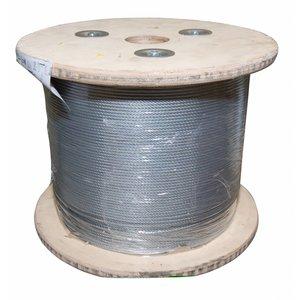 Staalkabel 5 mm 400 meter Megarol