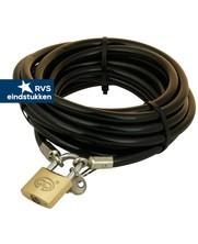Tuinmeubel cables 20m black + lock