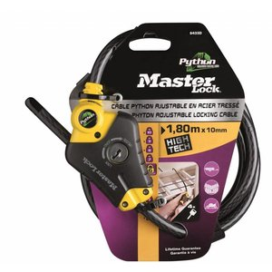 Masterlock Master Lock Kabelschloss Python, 180cm