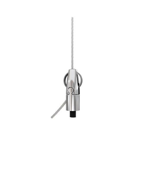 Seilabhängung befestigung  Abhängung aller Leuchtentypen Mit Drahtseil  Extern M4 zertifiziert