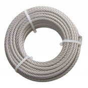 Wire Rope coil stainless 20 meter 6mm