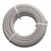 Wire Rope stainless 20 meter 6mm