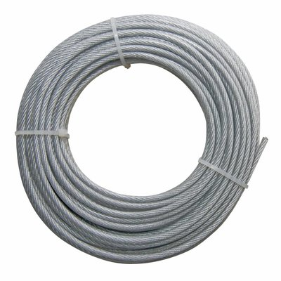Wire Rope coil Pvc 20 meter 3-4mm