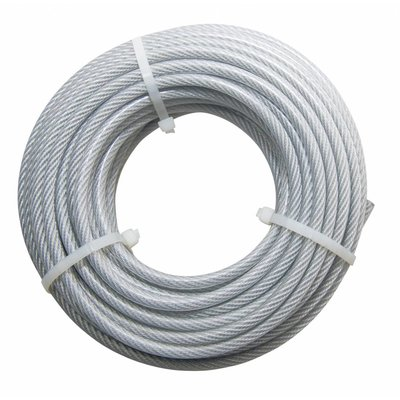 Wire Rope coil Pvc 20 meter 4-5mm
