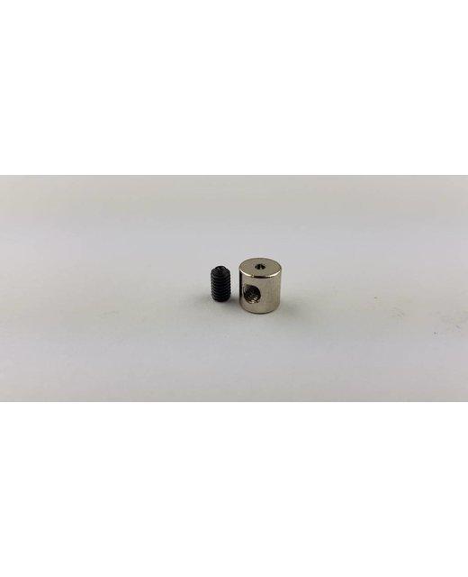 Staalkabelstop  1.5mm