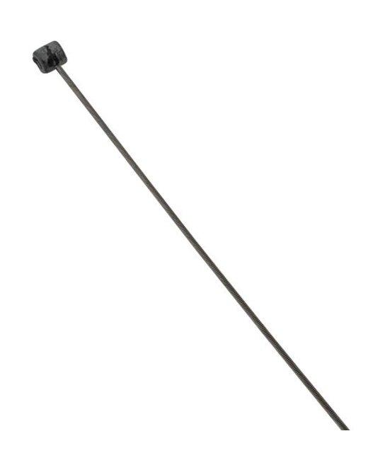 Staalkabel met ronde remkabel-nippel 1 meter