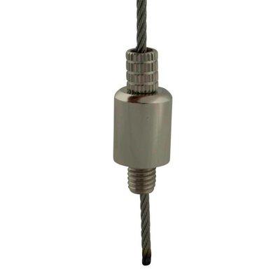 Technx Drahtseilhalter mit Schraube - 2.5mm Drahtseilhalter