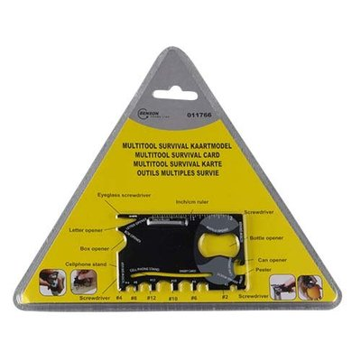 Technx 18 delige Credit card multitool