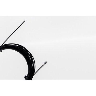 Technx Staalkabel met eindstop 5m - 1.2mm  Zwart