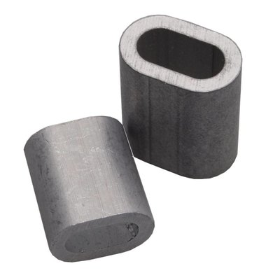 Pressklemmen 10mm aluminium
