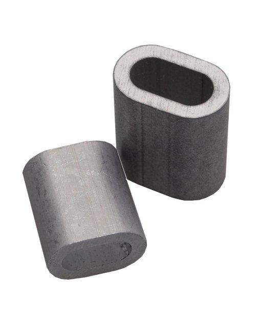 Presshülse 10mm aluminium