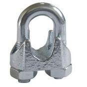 Draadklem voor staalkabel tot 8mm din741