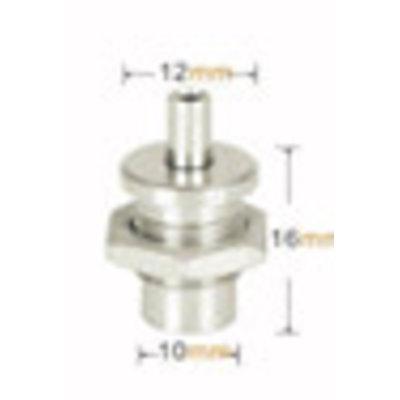 Technx  Greifer für schwebendes Regal 1,5 mm
