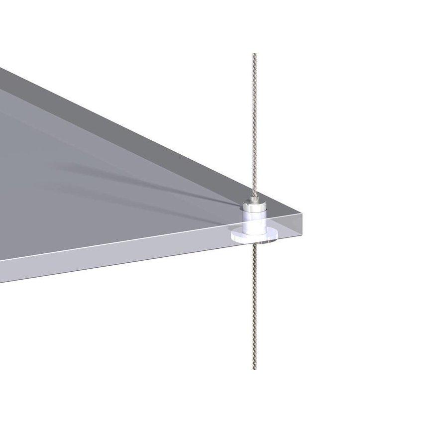 Gripper for  floating shelve 1.5mm