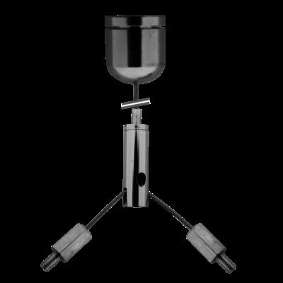 Technx Seilaufhängung Einbauset -  1.5mm*1m Hängende Ketten Einstellbare Länge 20
