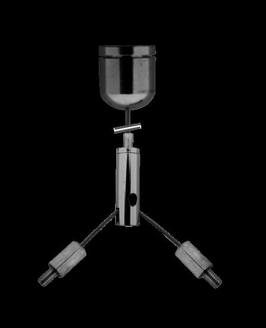 Snelophangsysteem met 2 x M4 uiteinden