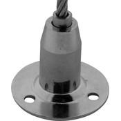 Technx Staalkabelhouder voor staalkabel tot 5 mm