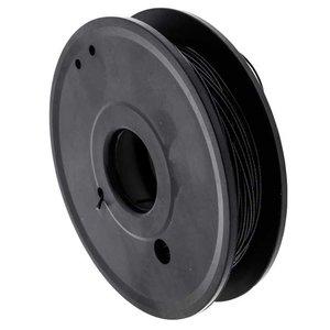 Staalkabel 1.0/1.2mm zwart 50 m geplastificeerd