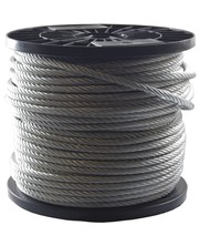 Rotation resistant wire rope 5 mm 100 meter on coil 19x7