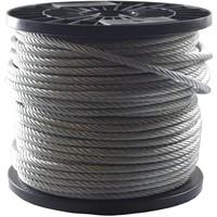 RVS Staalkabel 6 mm een lengte van 100 meter