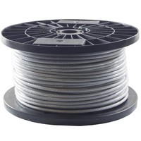 Wire Rope 3/4 mm PVC 100 meter