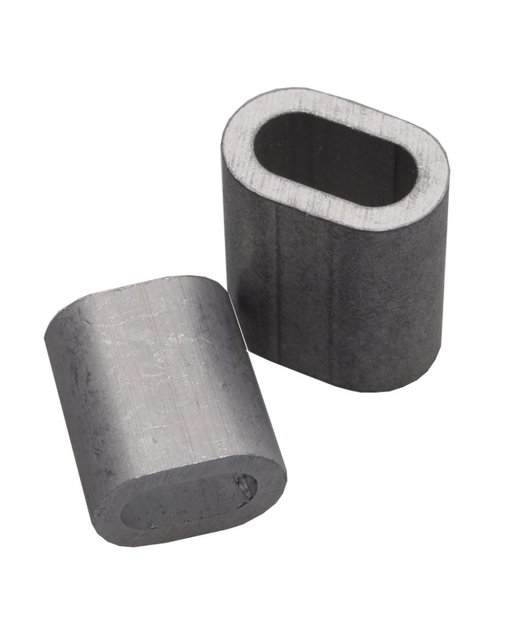 Presshülse 4mm aluminium