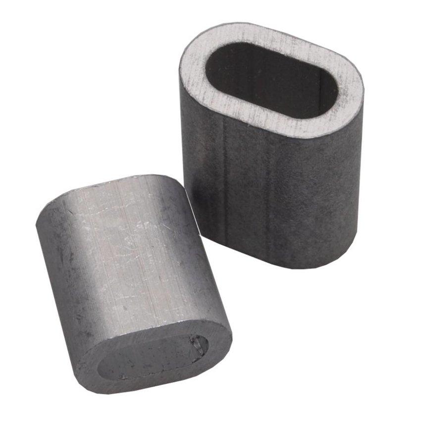 Ferrules 6mm aluminium