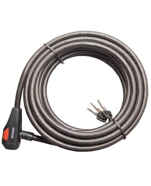 Kabelslot 10meter met vast slot