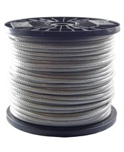 Wire Ropes 5/6 mm PVC 100 meter