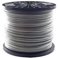 Wire Rope 5/6 mm PVC 100 meter