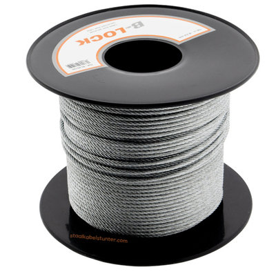 B-Lock Wire Rope on coil -2.5 mm 100 meter on coil